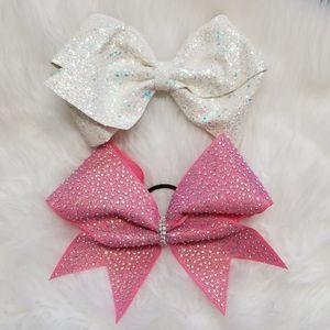 ⭕5/$25⭕ 2 Large Sparkle Bows